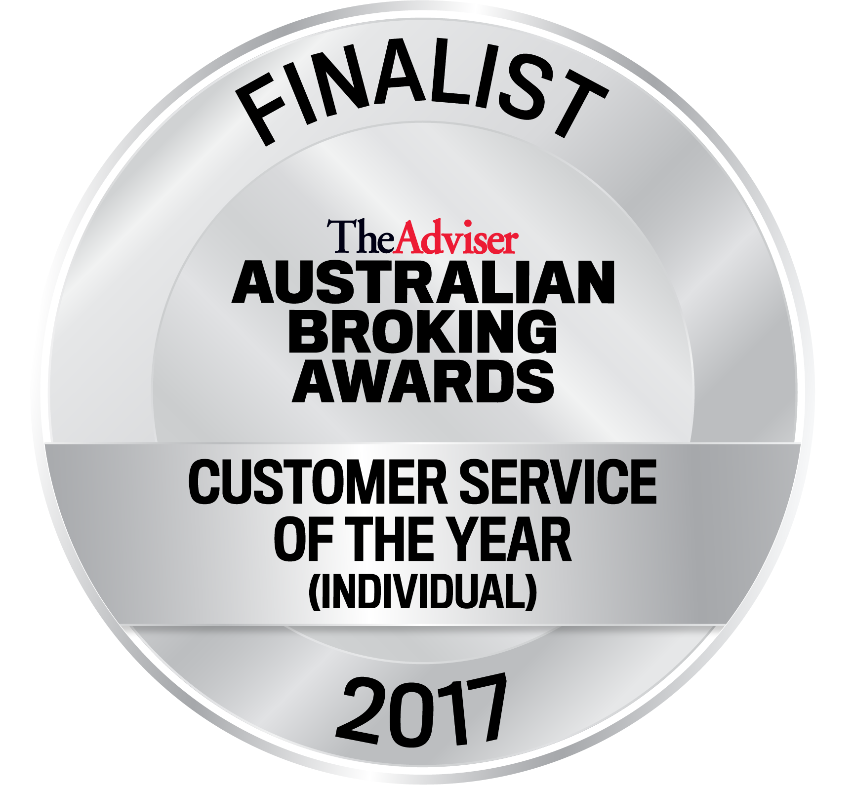 ABA 2017 Seal Finalist Customer Service of the Year Individual